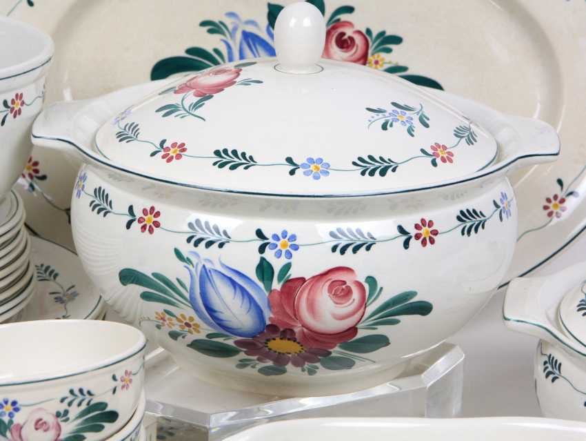 Villeroy & Boch dinner service hand-painted - photo 2