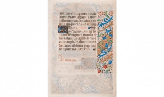 Book of hours Manuscript. Parchment (Fifteenth century). - photo 3