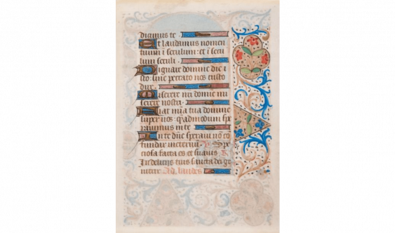 Book of hours Manuscript. Parchment (Fifteenth century).