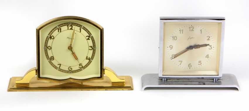 *Kienzle* alarm *Junghans* table clock - photo 1