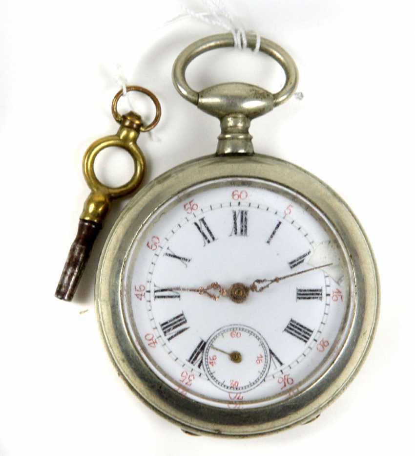 Key Pocket Watch End Of 19th Century. Century - photo 1