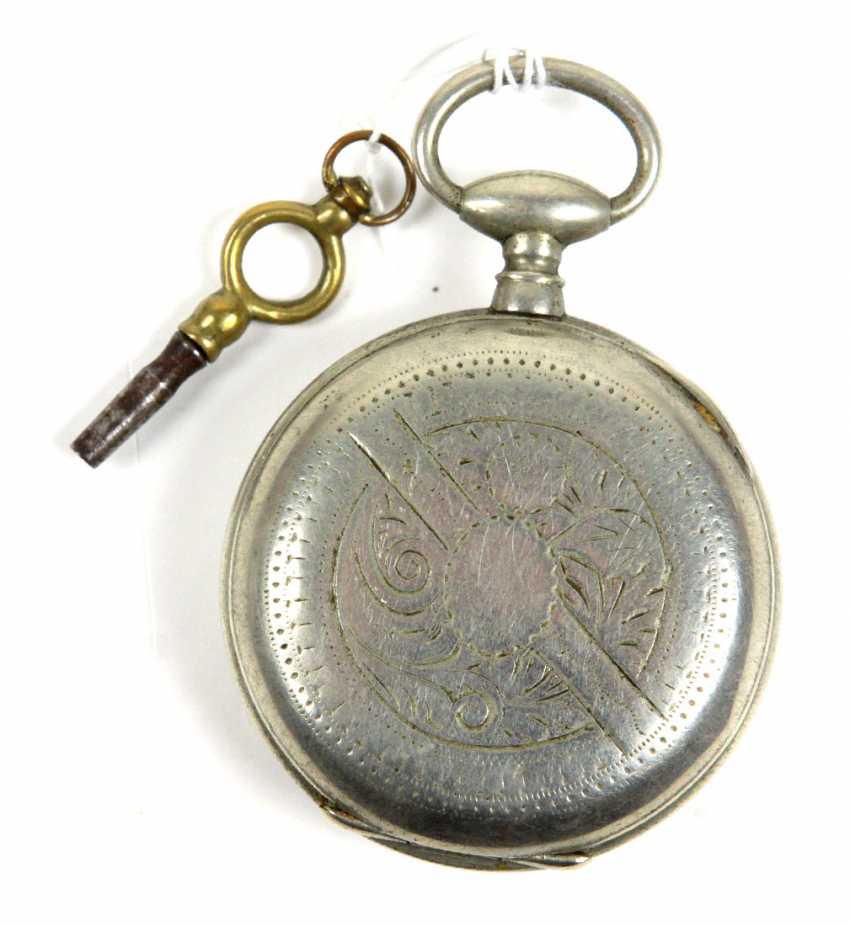 Key Pocket Watch End Of 19th Century. Century - photo 2