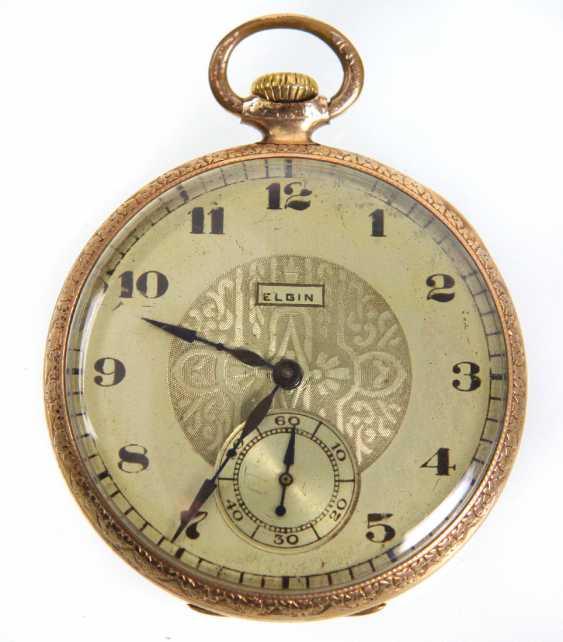 *Elgin* карманные часы США около 1920 - фото 1