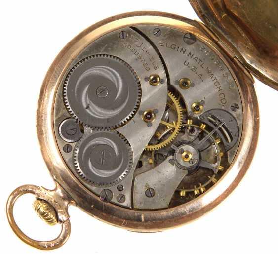 *Elgin* карманные часы США около 1920 - фото 3