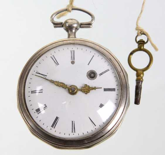 silver Spindeluhr the beginning of the 19th. Century - photo 1