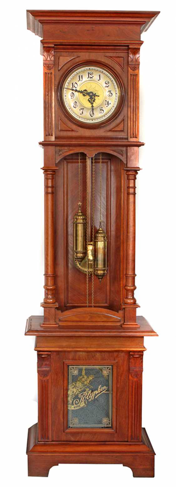 Grandfather clock with Polyphonic 1880 - photo 1