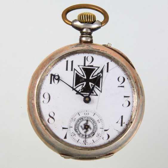 Patriotic pocket watch in a capsule - photo 1