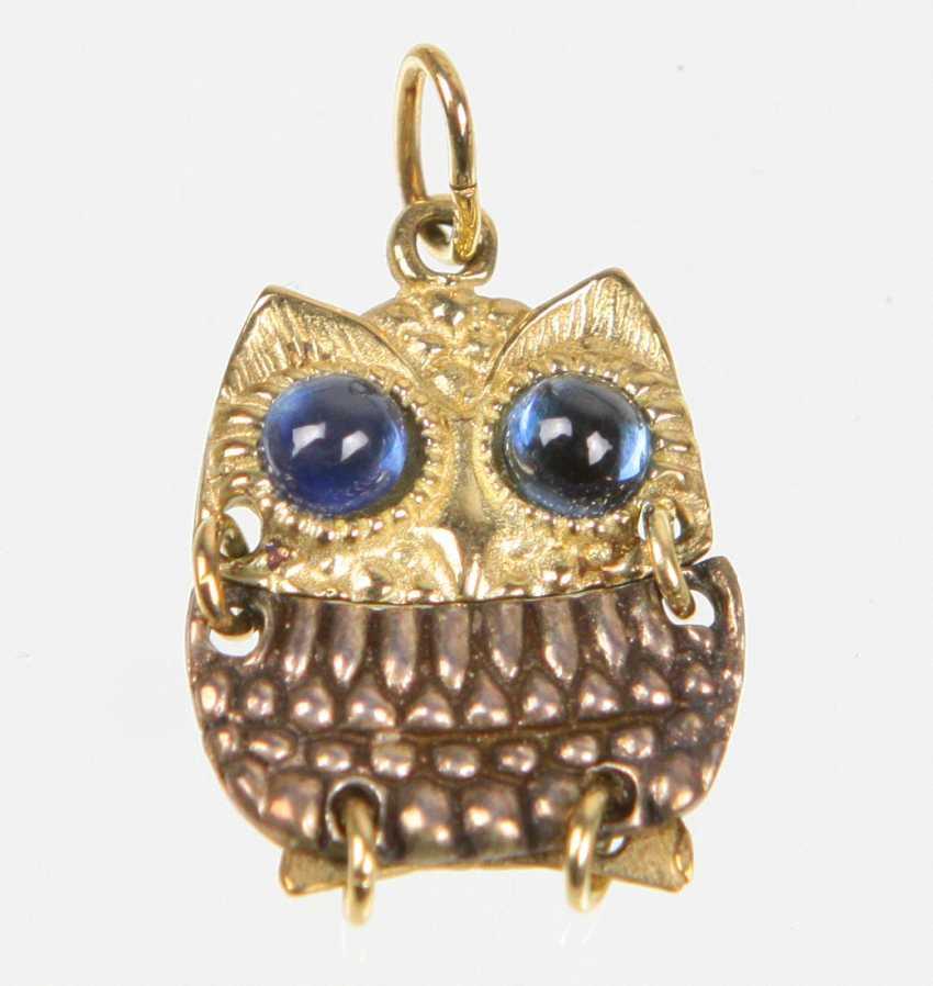 Owl Pendant - photo 1