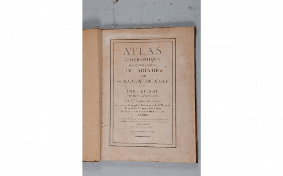 [ATLAS] - The SLE (Guillaume de) - BUACHE (Philippe) DEZAUCHE (Jean-Claude)