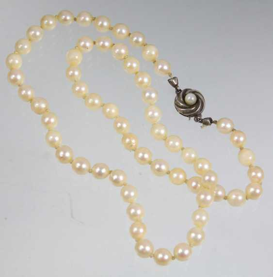 Akoya Cultured Pearls Necklace - photo 1