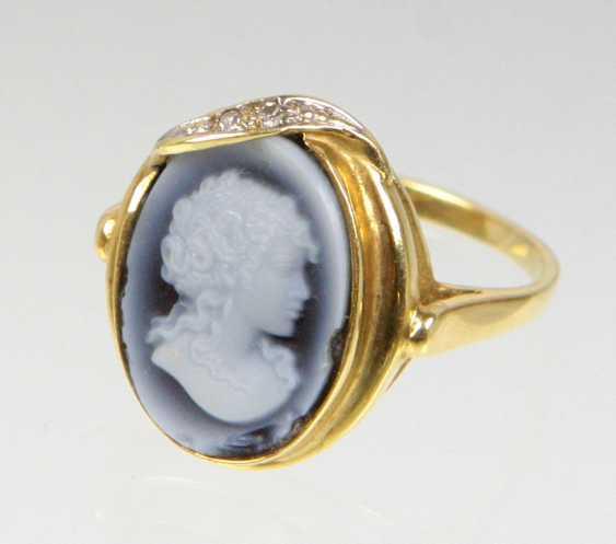 Kameé Brillant Ring Gelbgold 585 - photo 1