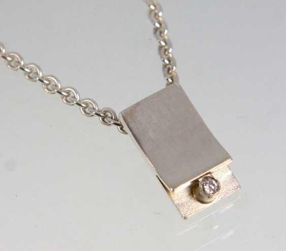 Designer pendant with diamond - photo 1
