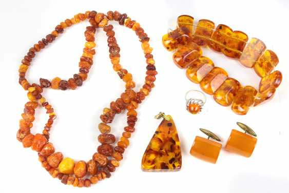 Amber jewelry among others - photo 1