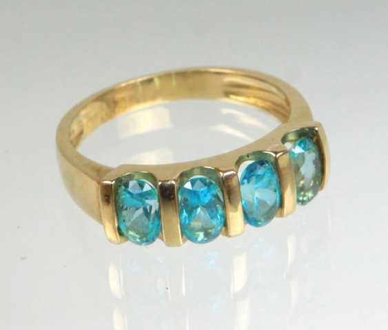 Apatit Ring - Gelbgold 375 - photo 1
