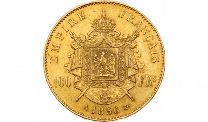 Second Empire 1852-1870 : 100 Francs or - photo 2