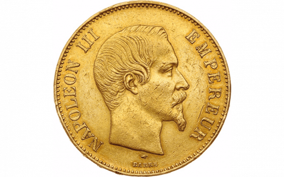 Second Empire 1852-1870 : 100 Francs or