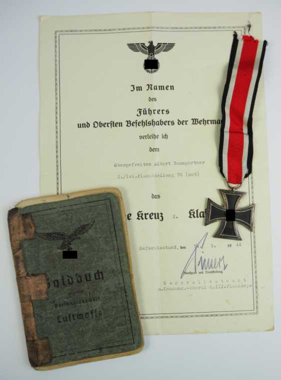 Estate of a lance corporal of the 2./ lei. Flak division 78 (mot). - photo 1
