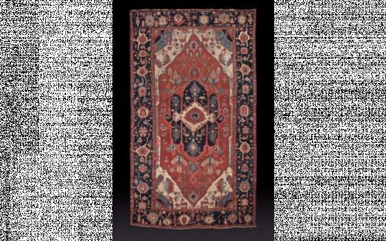 Carpet Sérapi, North West of Iran, in the Xixth century - photo 1