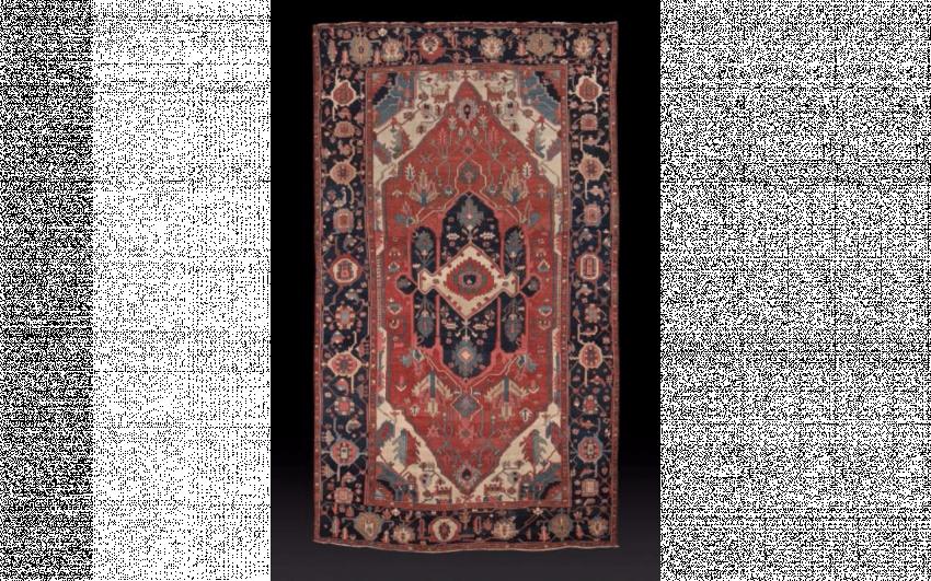 Carpet Sérapi, North West of Iran, in the Xixth century