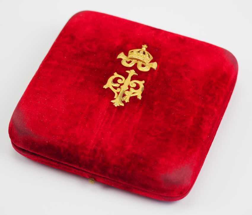 Bulgaria: St. Alexander order, breast star with diamonds case. - photo 1