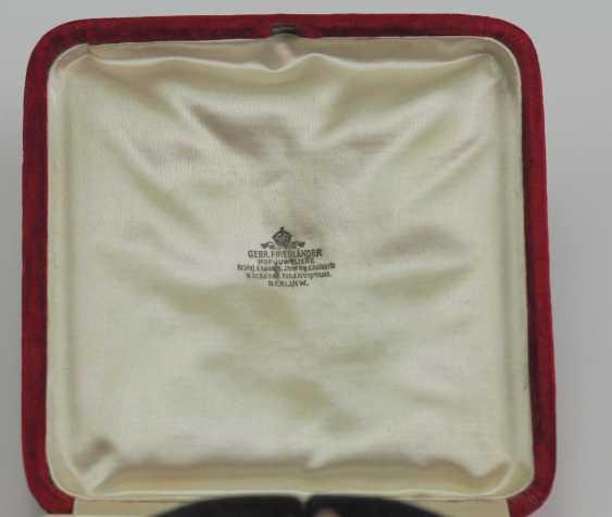 Bulgaria: St. Alexander order, breast star with diamonds case. - photo 3