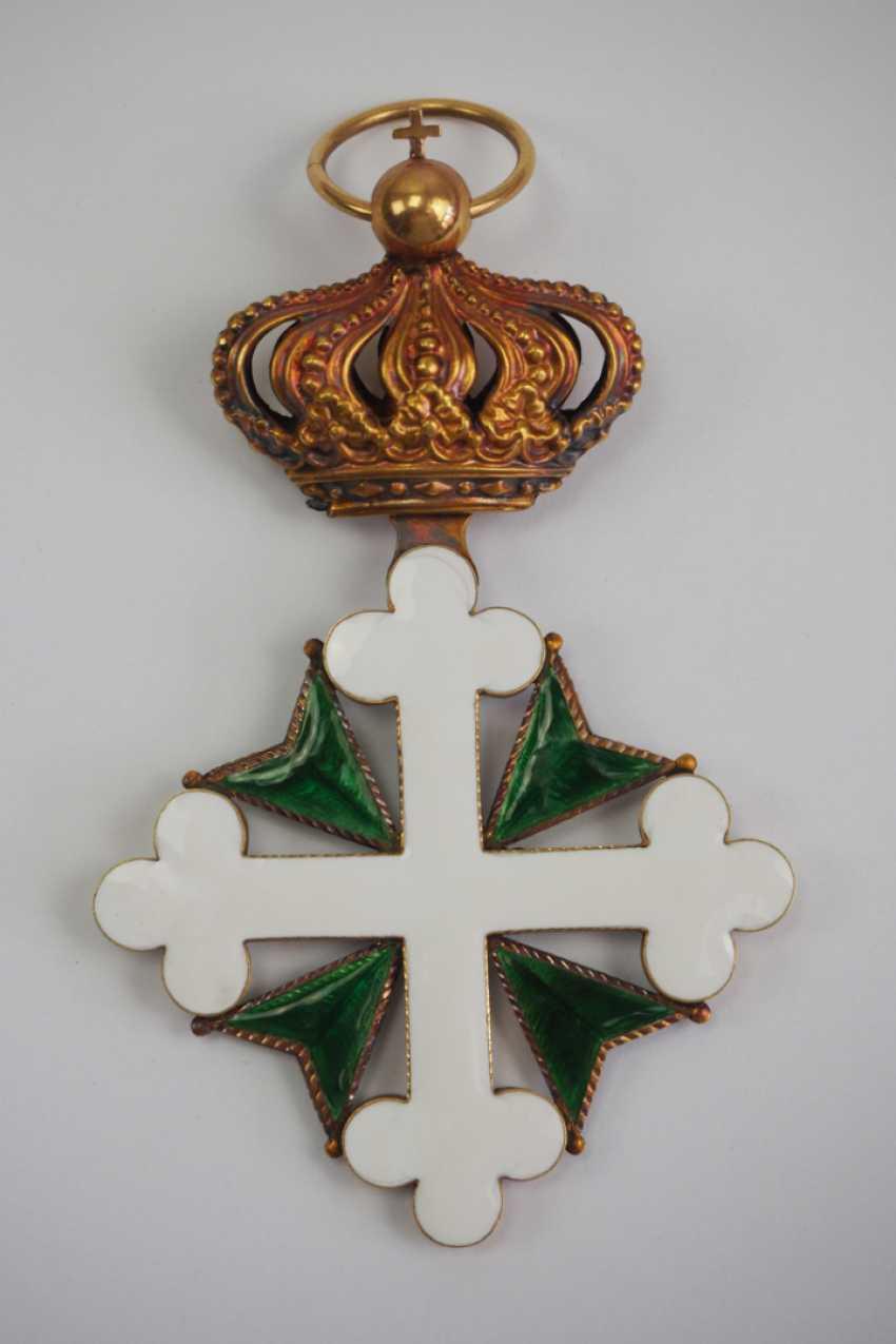 Орден святых маврикия и лазаря сардинского королевства одной