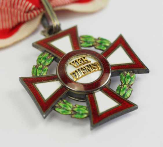 Austria: Military Merit Cross, 2. Class with war decoration, in a case. - photo 7