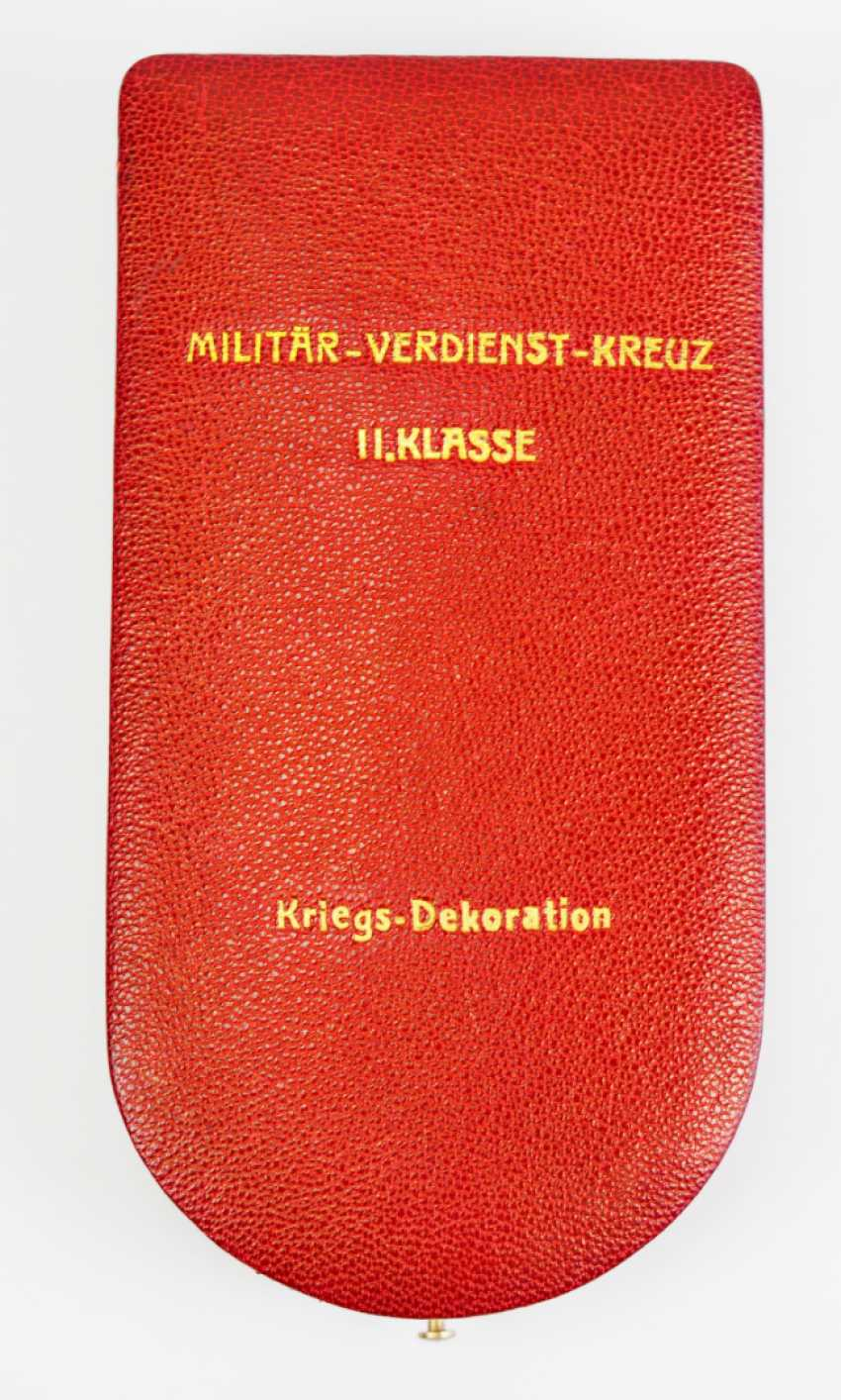Austria: Military Merit Cross, 2. Class with war decoration, in a case. - photo 8