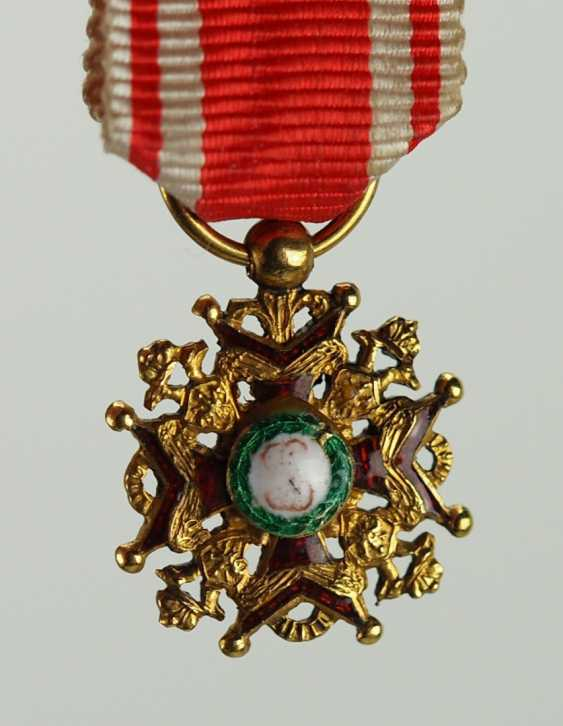 Russia: Imperial and Royal order of Saint Stanislaus, 2. Model, 1. Type (1831-1841), And The Miniature. - photo 1
