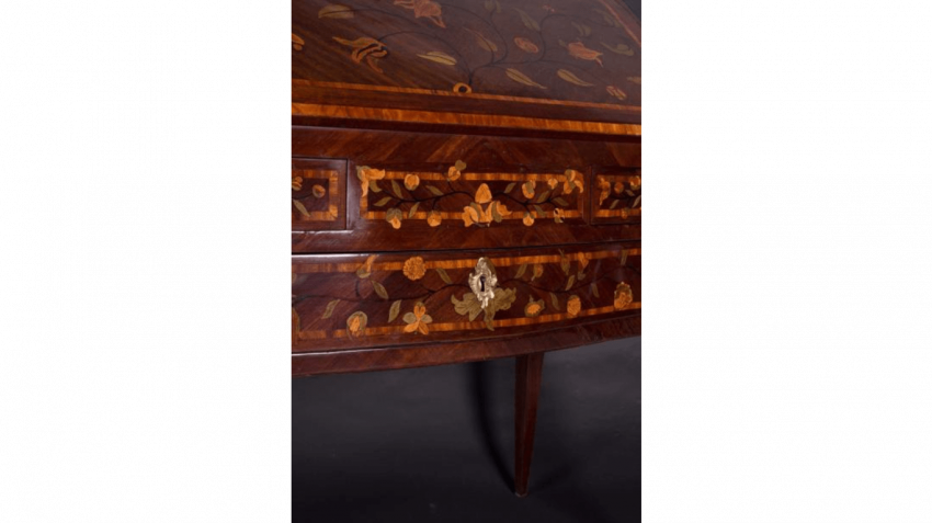 Rare office slope Louis XV