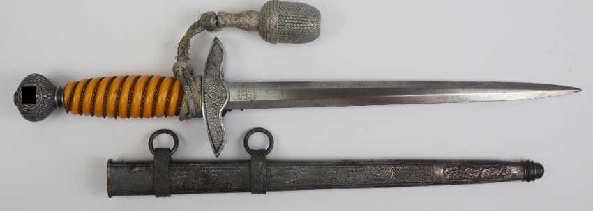 Luftwaffe Officer's Dagger - Alcoso. - photo 4