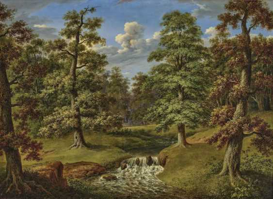 Forest landscape with stream. Weber, Therese - photo 1