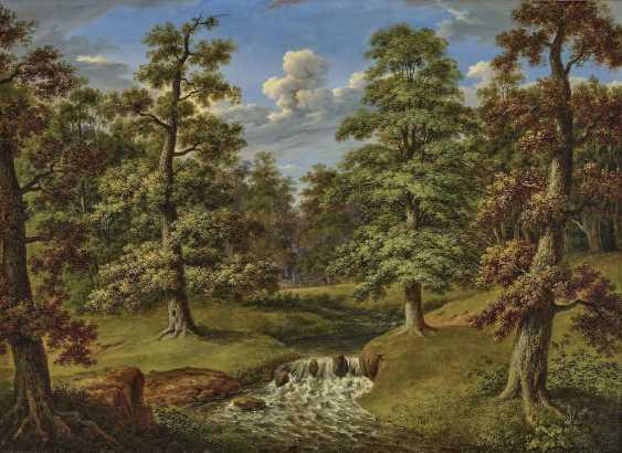 Waldlandschaft mit Bachlauf. Weber, Therese - Foto 1
