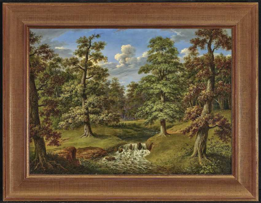 Forest landscape with stream. Weber, Therese - photo 2