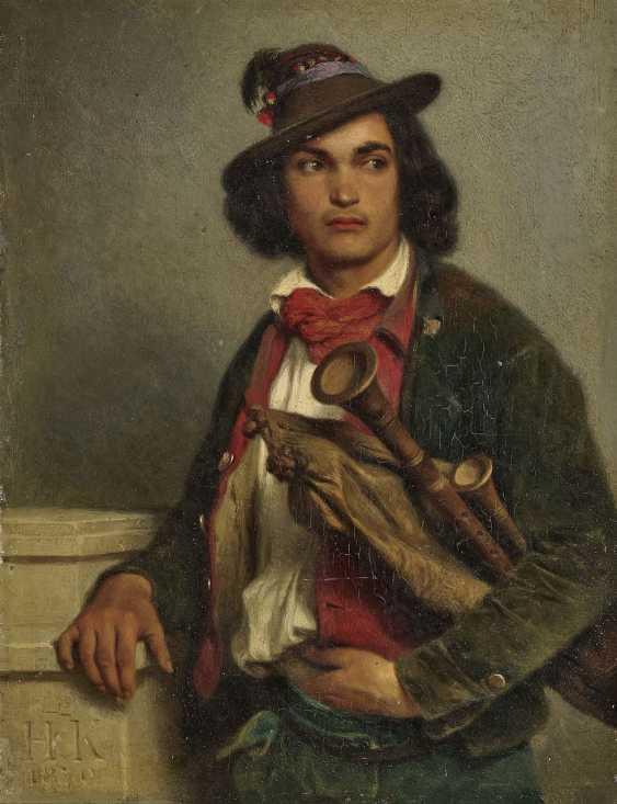 Pifferaro. Kauffmann, Hugo - Foto 1