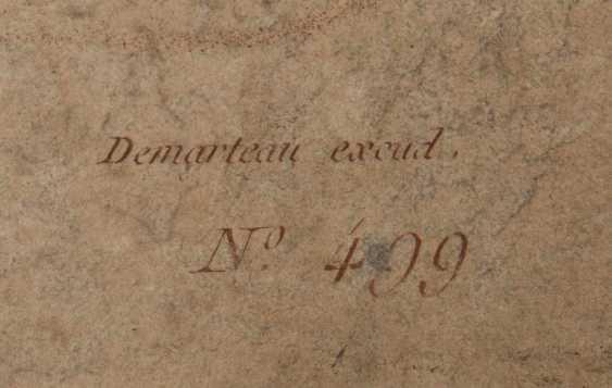 KONVOLUT FRANZÖSISCHE RÖTELRADIERUNGEN, auf Papier, 18./19. Jahrhundert - Foto 6
