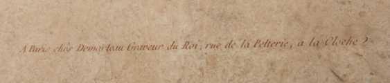 KONVOLUT FRANZÖSISCHE RÖTELRADIERUNGEN, auf Papier, 18./19. Jahrhundert - Foto 7
