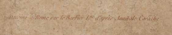 KONVOLUT FRANZÖSISCHE RÖTELRADIERUNGEN, auf Papier, 18./19. Jahrhundert - Foto 8