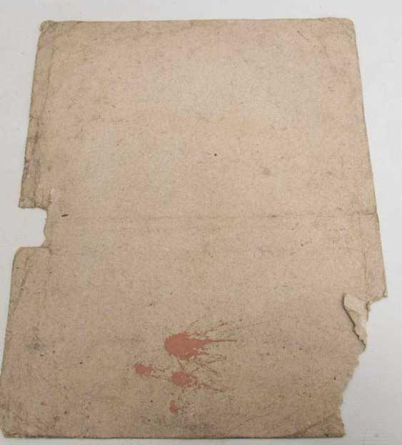 KONVOLUT FRANZÖSISCHE RÖTELRADIERUNGEN, auf Papier, 18./19. Jahrhundert - Foto 12