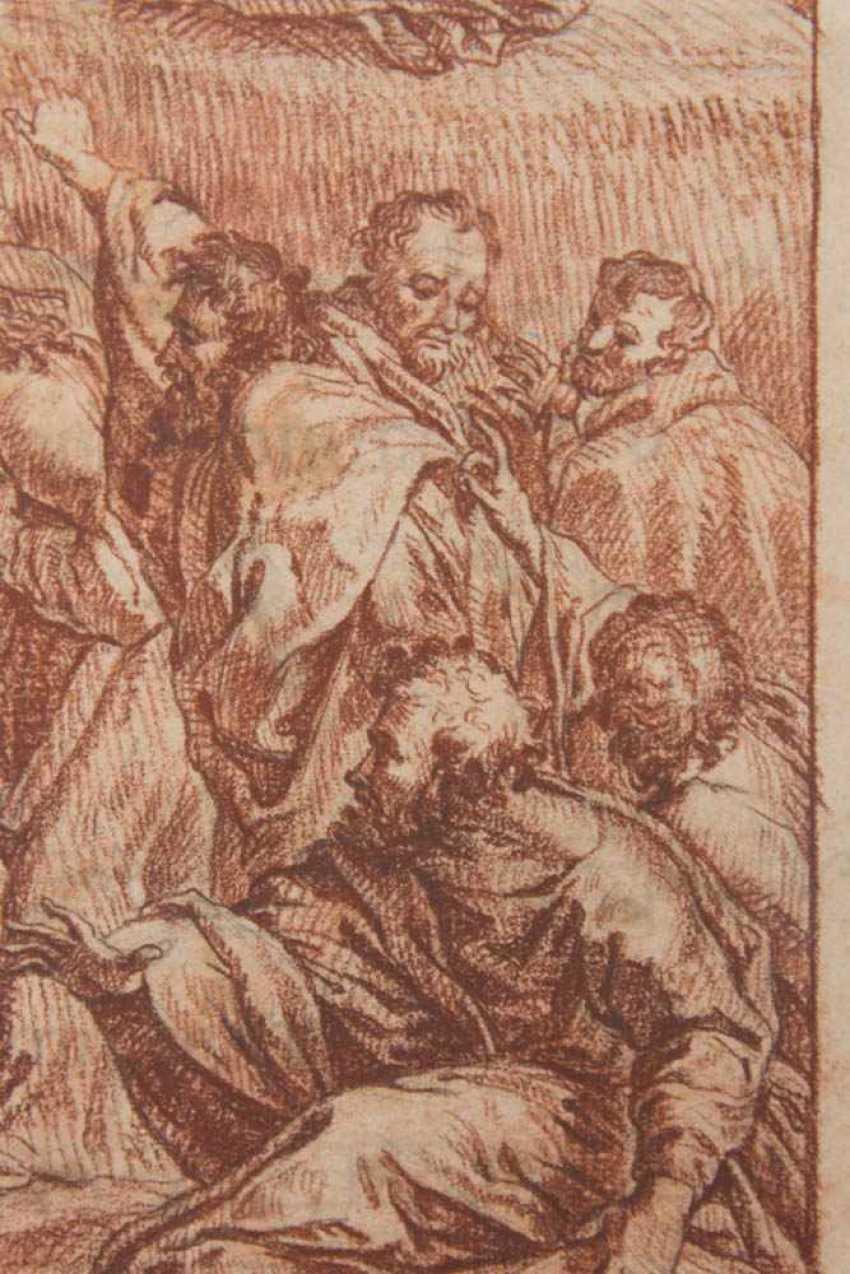 BIBLE SCENE The Transfiguration by Raphael Antique Print 1819