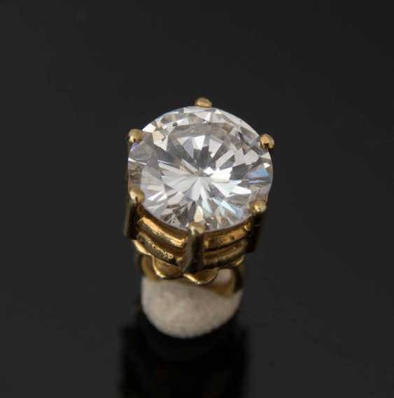 Plug, a 1.1-carat, 585 yellow gold, BRILLIANT. - photo 4