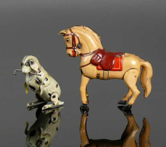 Horse and dog - photo 1
