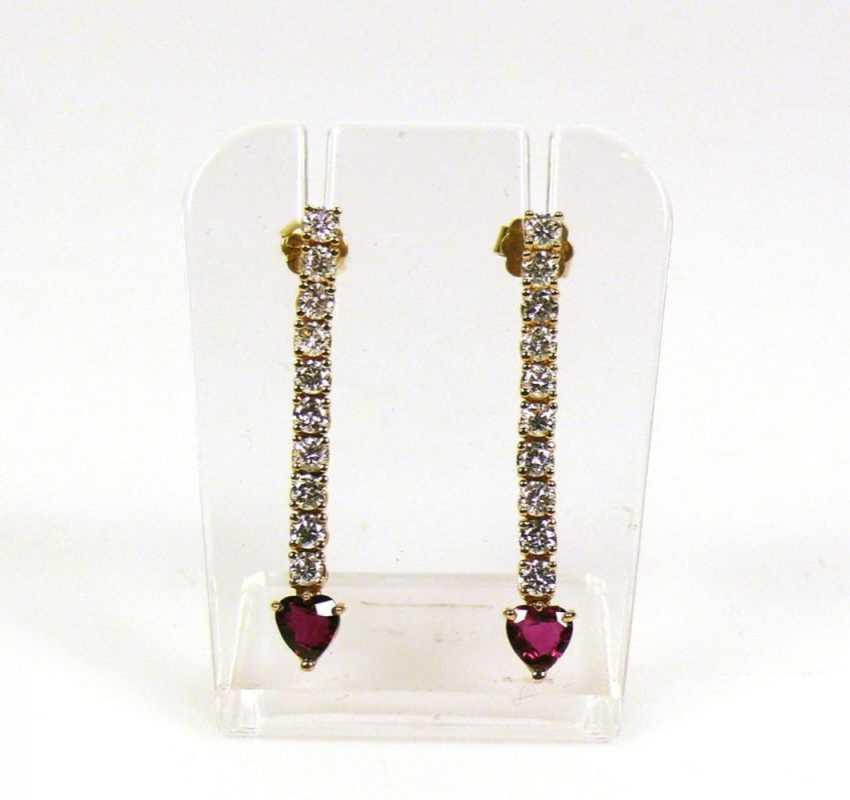 Pair Of Drop Earrings - photo 1