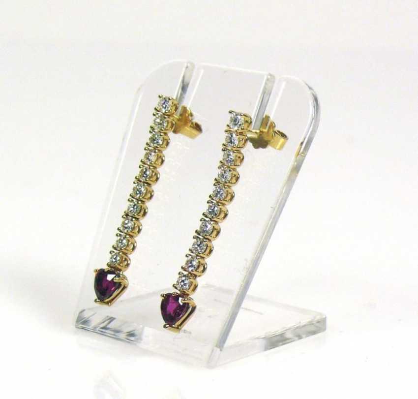 Pair Of Drop Earrings - photo 2