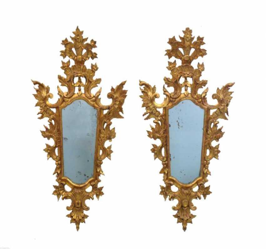 Pair Of Rococo Mirror - photo 1