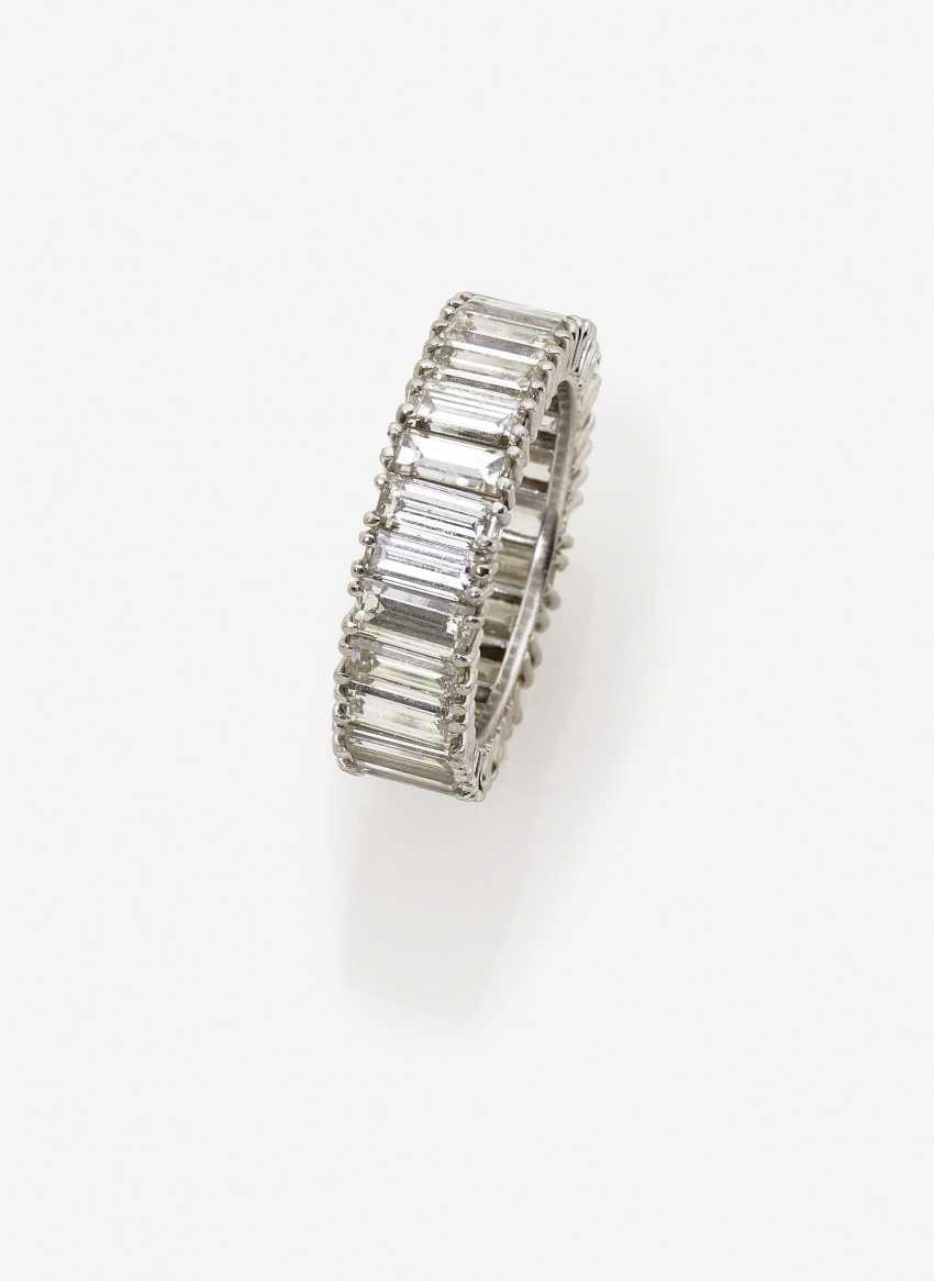 Альянс кольца с бриллиантами - фото 1
