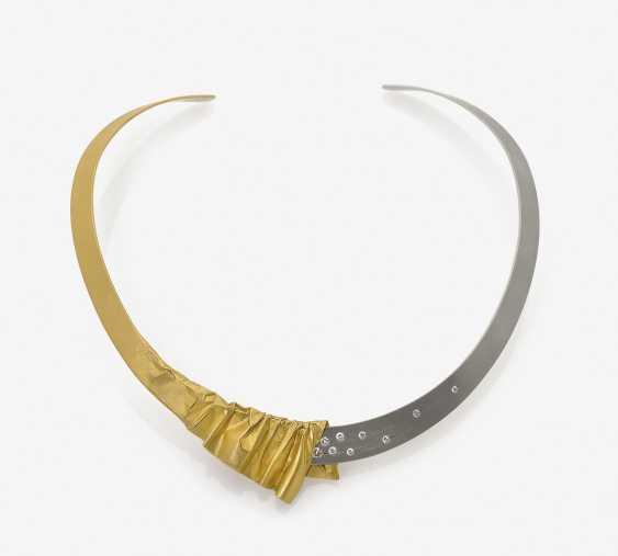 Parure, состоящий из колье, браслет и кольцо - фото 1