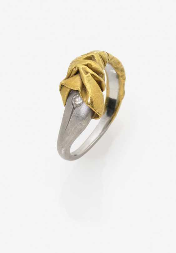 Parure, состоящий из колье, браслет и кольцо - фото 4