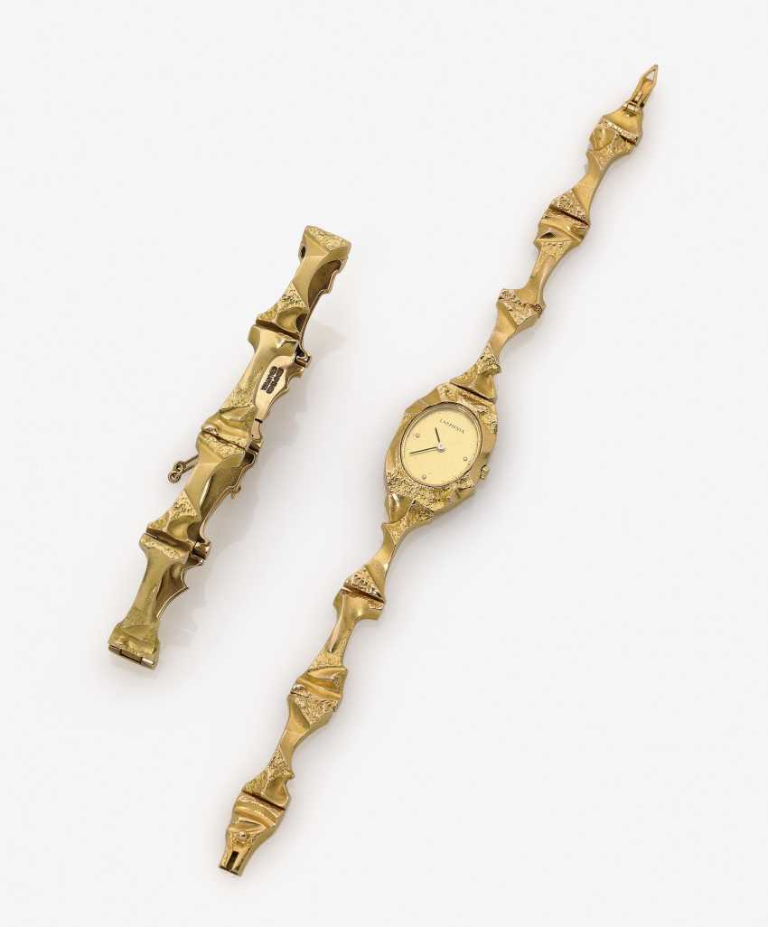 Parure consisting of bracelet, watch and earring and a necklace - photo 2