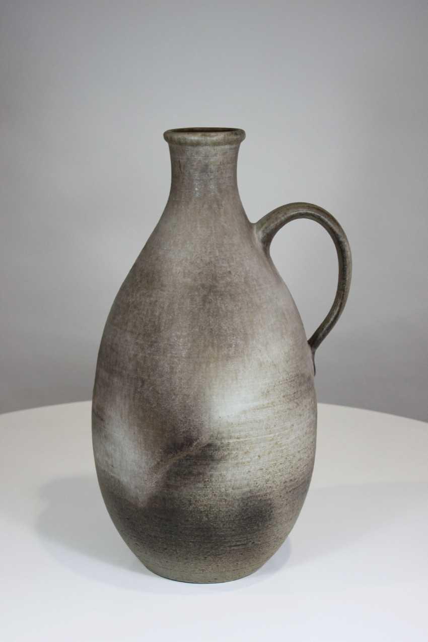 Ceramic vase with handle, Germany, 20. Century - photo 1